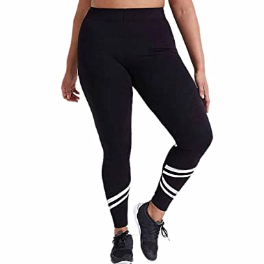 b28d381884672 Napoo Clearance Women Elastic Solid Criss-Cross Workout Dance Yoga Pant  Legging Plus Size (XXL, Black A): Amazon.in: Clothing & Accessories