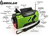 BROLAR-Emergency-Solar-Hand-Crank-Radio-Self-Powered-AMFM-NOAA-Weather-Radio-Survival-LED-Flashlight-Smart-Phone-Charger-2000mAh-Power-Bank