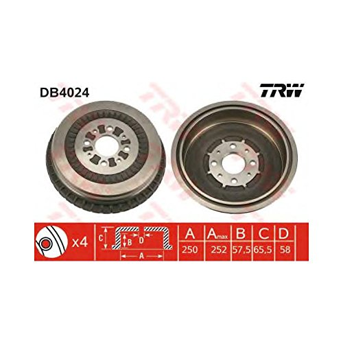 TRW DB4024 Brake Drums: