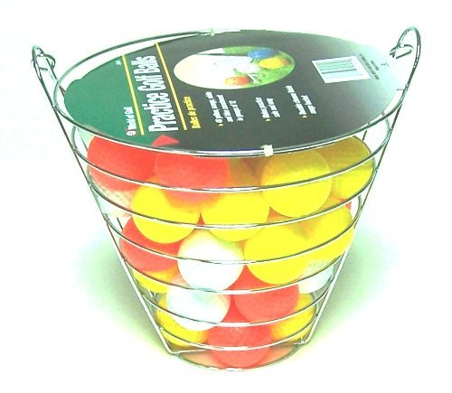 Jef World of Golf Gifts and Gallery, Inc. Golf Practice Balls (48 Multi-Colored Balls) [並行輸入品] B071JKBJQT