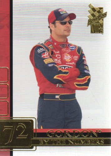 2005 Press Pass VIP NASCAR Racing #74 Jeff Gordon By The Numbers