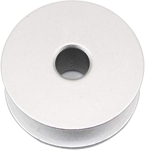 100PCS #18034A AluminumM Larger BOBBINS FIT for Brother JUKI PFAFF CONSEW YAMATA CKPSMS Brand