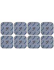 Electrodes pour électrostimulateurs BEURER SANITAS - 8 electrodes 45x45mm - patch pads d'electrostimulation tens et ems - qualité axion