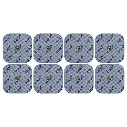 8 Electrodos para VITALCONTROL BEURER - Set de parches TENS EMS tamaño universal - para electroestimuladores