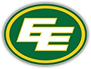 Edmonton Eskimos Logo Football Sport Vinyl Sticker 5 X 4 inches