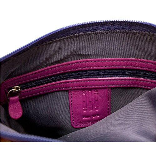 Cross Black body Leather Mini block Brights Handbag Sac Color rnqIq0CS