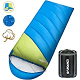 FUNDANGO XL Lightweight Sleeping Bag Portable 3-4 Season Sleeping Bag with Compression Sack Perfect for Camping,Backpacking,Travel For Sale