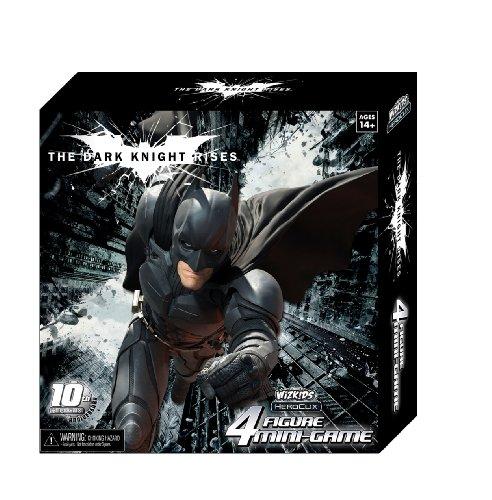 The Dark Knight Rises 4 Figure Mini-game Heroclix Wizkids 10th Anniversary Dark Knight Rises Mini