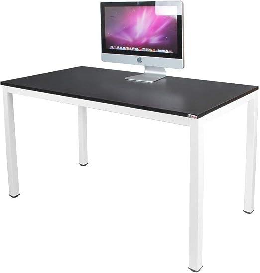 NeedFurniture Mesa de Ordenador 120x60 cm Escritorios para ...