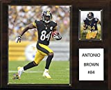 NFL Pittsburgh Steelers Antonio Brown Player Plaque, 12 x 15-Inch