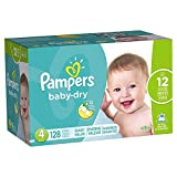 pampers baby extra protection - Pampers Baby-Dry Disposable Diapers Size 4, 128 Count