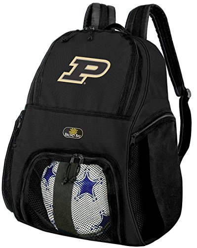パデュー大学サッカーバックパックまたはPurdueバレーボールバッグ
