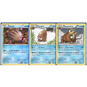 Mamoswine pokemon evolution