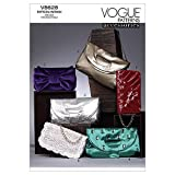 Vogue Patterns V8628 Clutch Bags, One Size