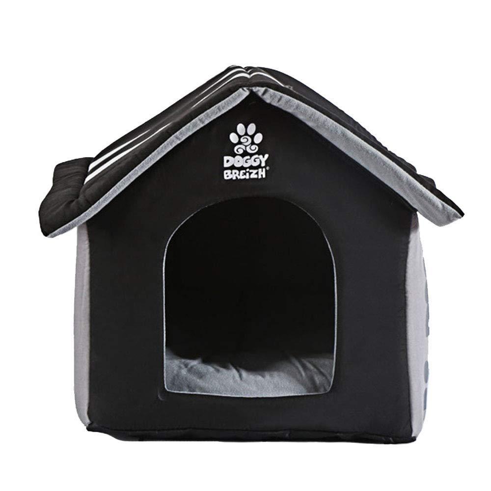 Yiuu Cuccia Letto per Animali Domestici, Lavabile Pieghevole e Traspirante Morbido Caldo Letto Casa Dell'animale Cane Gatto con Sfoderabile Materasso