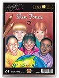 Finetec Skin Tone Pencils - Set of 15 Colors