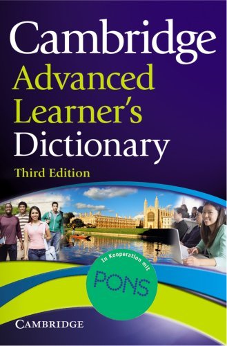 Cambridge Advanced Learner's Dictionary. Third edition: Englisch