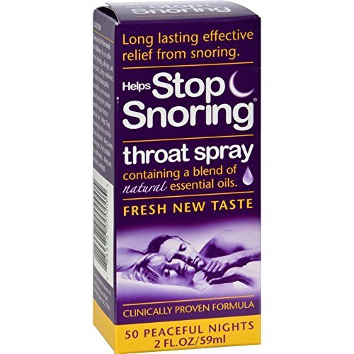 Essential Health Products Stop Snoring Spray 2 Fz