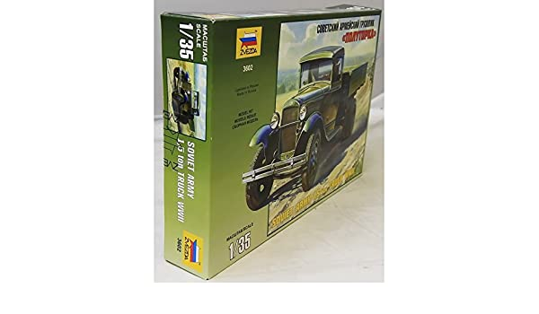 Soviet Army 1,5 ton Truck WW II GAZ-AA: Amazon.es: Juguetes ...