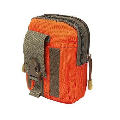 CactusAngui Tactical - Bolsa de cinturón para cinturón de seguridad, Anaranjado, Talla única