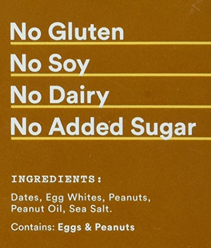 Large Product Image of RX Bar Protein Bar, Peanut Butter, 1.83 oz (12 Count)