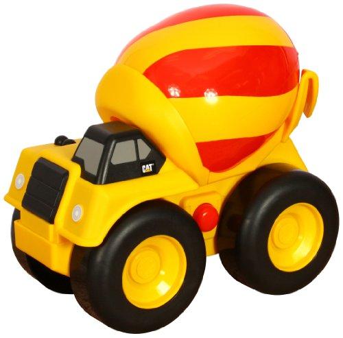 Toy State Caterpillar Preschool Lightning Load: Cement Mixer (Ace Mixer)