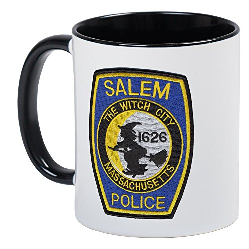 CafePress - Salem Police Mug - Unique Coffee Mug, Coffee (Salem Mass Witch Trials Halloween)