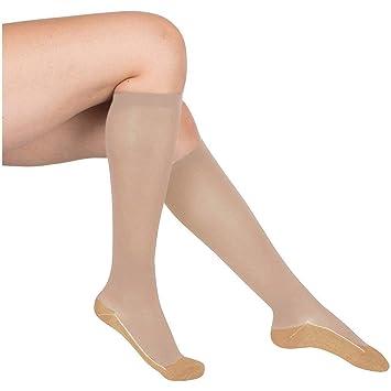 f63068635c EvoNation Women's Copper USA Made Graduated Compression Socks 20-30 mmHg  Firm Medical Quality Ladies