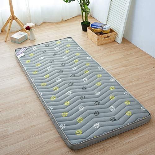 畳マットレス,折りたたみマットレス学生寮,柔らかいマットレス,フランネル 快適さ 通気性 ソフト 肌 ベッド-D 150x220cm(59x87inch)
