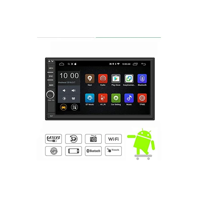 YODY Android 7.1 Double Din Car Stereo R