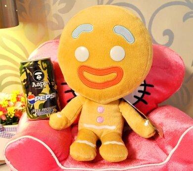 Shrek the Third Gingerbread Man Plush Doll Toy