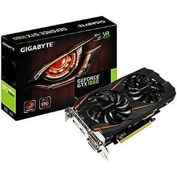 Amazon.com: Gigabyte GeForce GTX 1060 Windforce OC - Tarjeta ...