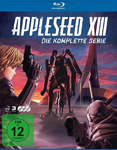 Appleseed XIII - Komplettbox BD