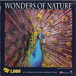 Wonders Of Nature - Peacock 1000 pc Puzzle