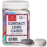 Contact Lens Cases, 12 Pack – Assorted Separate