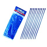 Absolute PCT-8100BL Pro Cables 8-Inch Ties, Blue