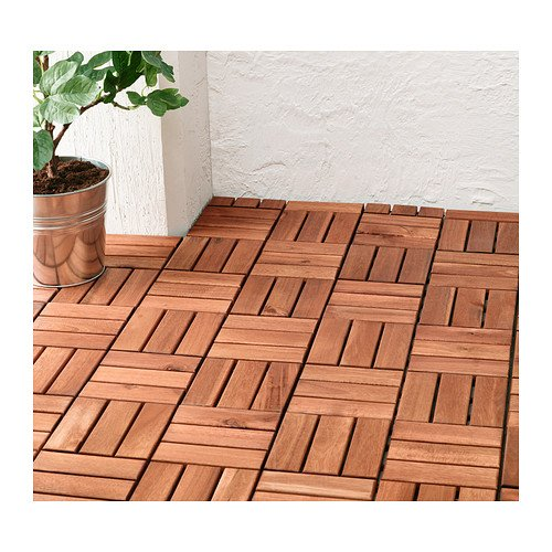 Merveilleux Ikea Outdoor Deck And Patio Interlocking Flooring Tiles (Brown Stained)      Amazon.com