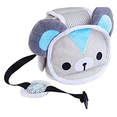 Infant Protective Harnesses Cap Adjustable Animal Head Guard Head Protector Toddler Safety Helmet