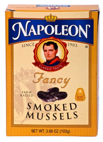 Napoleon FANCY SMOKED MUSSELS