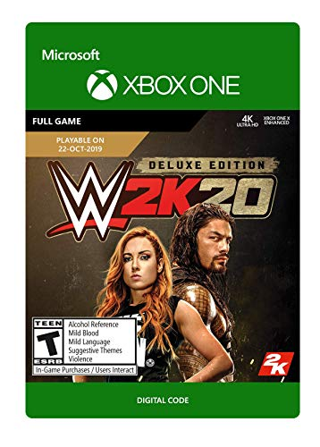 WWE 2K20: Deluxe Edition  - [Xbox One Digital Code]