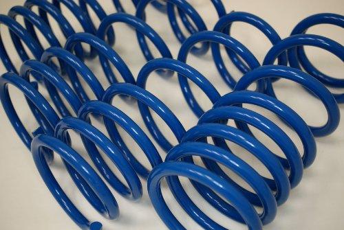 TuningPros LS-060-B Lowering Springs Kit Blue Set of 4