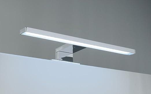 lampada luce a led applique cm 45 faretto specchio arredo bagno fortuna