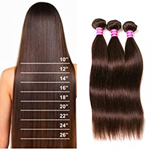 8a brazilian weave straight hair extensions 3 bundles 22 22 22 8a brazilian weave straight hair extensions 3 bundles 22 22 22 inch dark brown hair color human hair weave 300g total 8 28 inch pmusecretfo Gallery