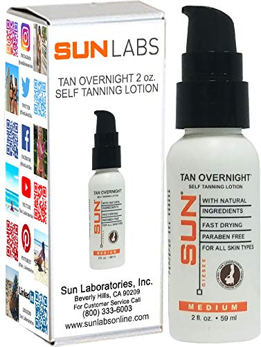 Sun Self Tanning Lotion Tan Overnight Instant Tint  by Sun L