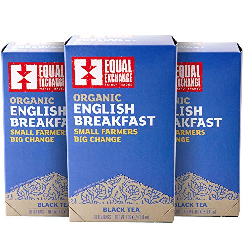 Equal Exchange Organic English Breakfast Tea, 20-Count (Pack of 3)