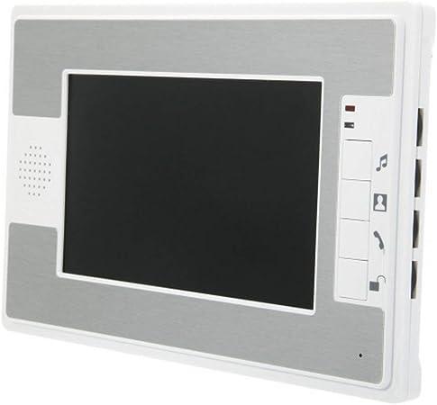 WAZA Interphone vid/éo avec sonnette 2,4  3 V//0,6 W