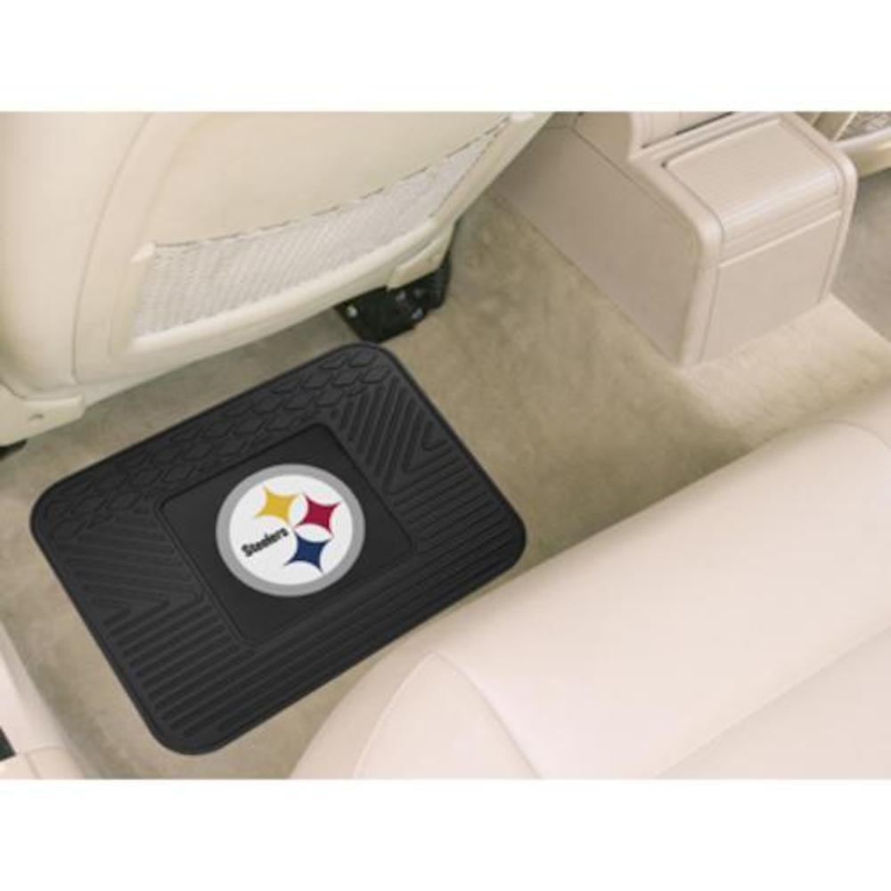 Fanmats ®  NFL Pittsburgh Steelers Universal Vinyl Utility Rear Floor Mat (9998)