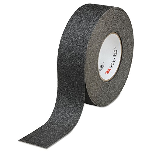 Safety-Walk General Purpose Tread Rolls, Black, 2w X 60ft., 2/carton