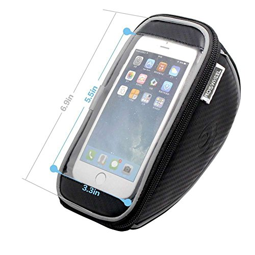 Bicycle Mountain Road MTB Bike Front Frame Tube Handlebar Bag Cycling Basket for Cellphone Phone