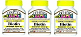 21st Century Biotin 5000 Mcg Capsules, 110-Count (Pack of 3) For Sale